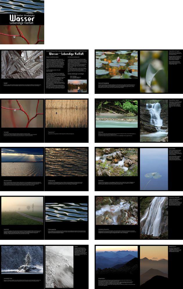 """Fotobuch """"Wasser - lebendige Vielfalt"""""""