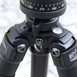 Benro C3570F mit Kompass und Nivellierlibelle