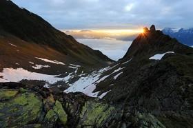 Silberstreif am Horizont - Ötztaler Alpen