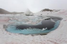 Eissee in den Ötztaler Alpen