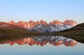 Bergsee-Spiegelung