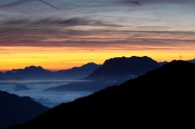 Clearing Storm - Bayerische Alpen